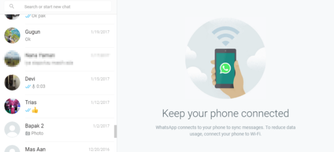 How to connect Whatsapp to a laptop